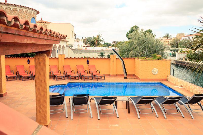 Vue du balcon Location Villa 53410 Empuriabrava