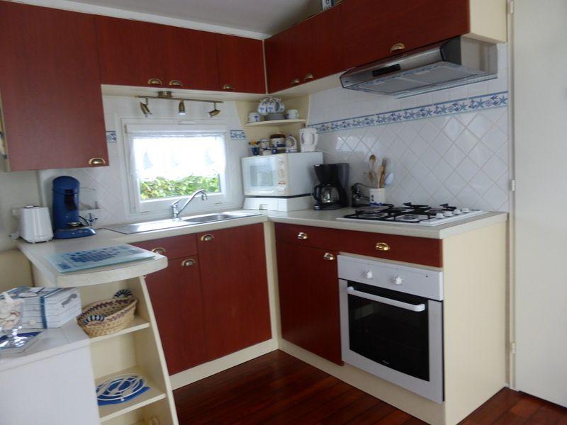 Coin cuisine Location Mobil-home 53456 Pont l'Abbé