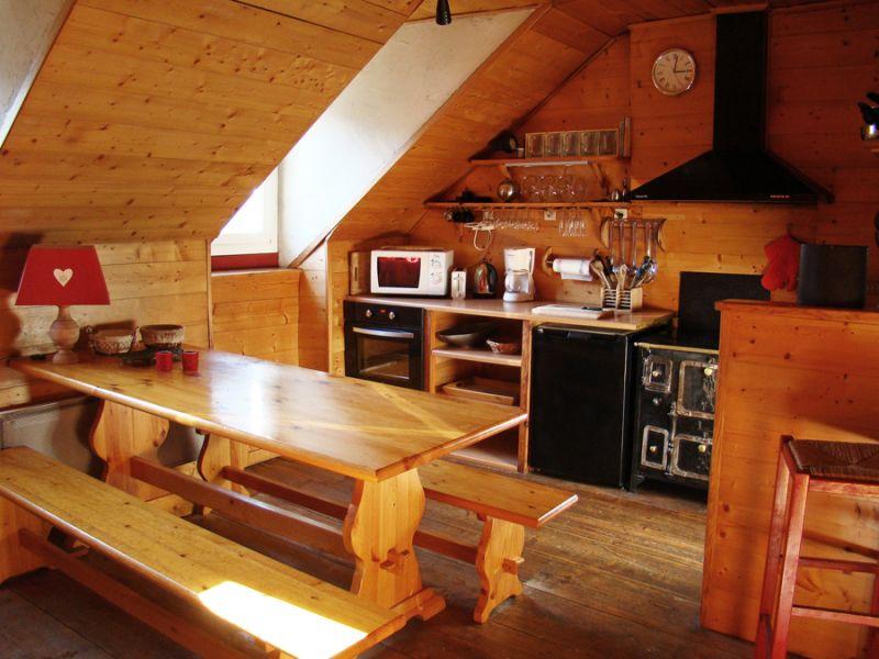 Cuisine américaine Location Appartement 53707 Luz Saint Sauveur