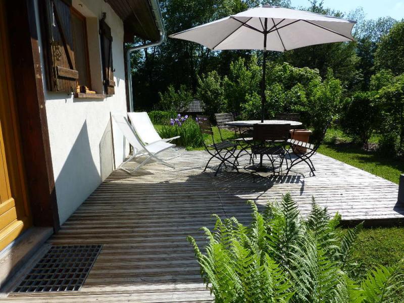Terrasse Location Maison 53737 Praz de Lys Sommand