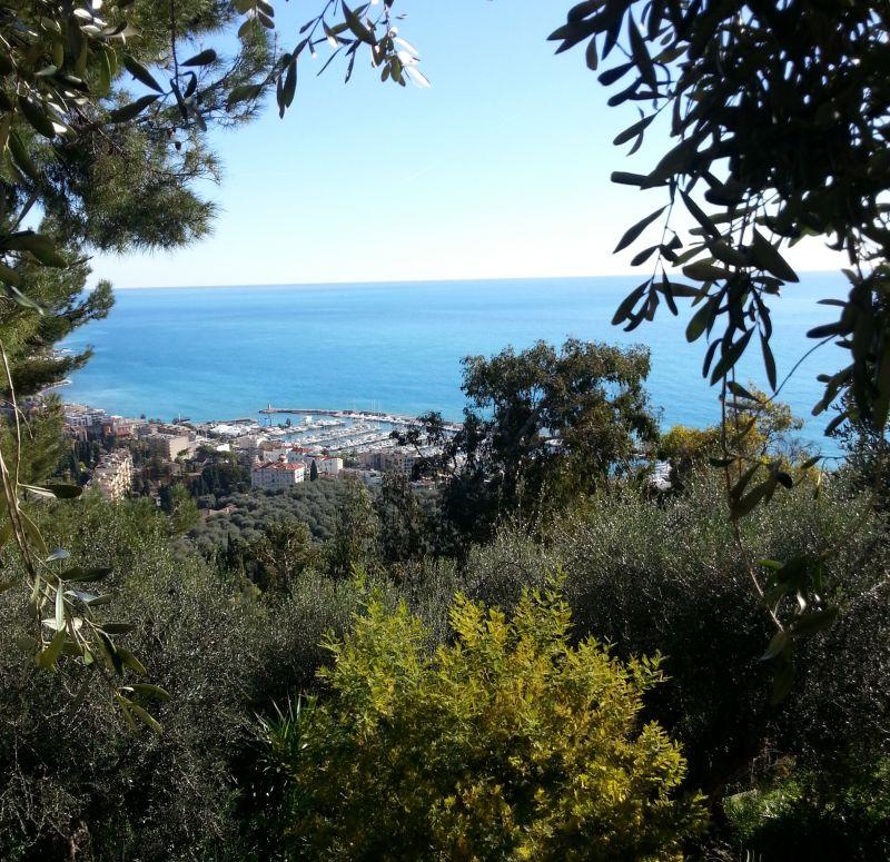 Vue depuis la location Location Gite 5408 Menton