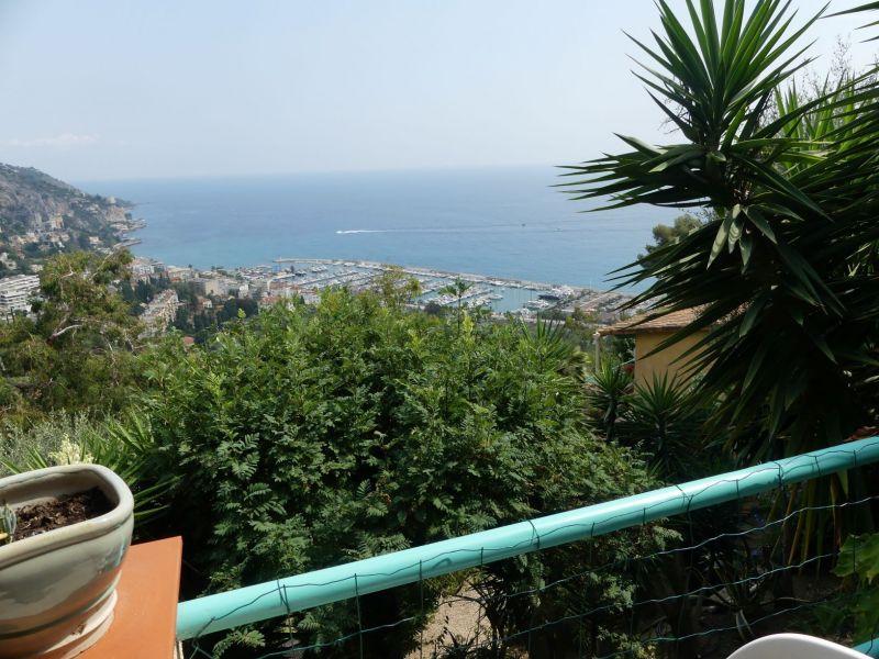 Vue de la terrasse Location Gite 5408 Menton