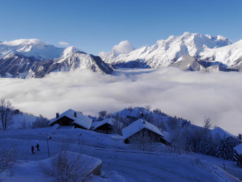 Vue depuis la location Location Chalet 54265 Alpe d'Huez