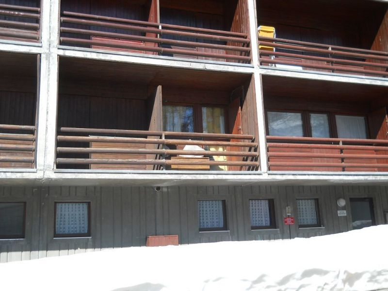 Vue du balcon Location Studio 54302 Cervinia (Breuil)