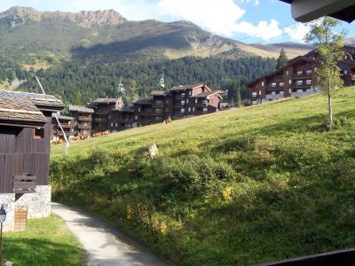 Vue de la terrasse Location Studio 54858 Valmorel