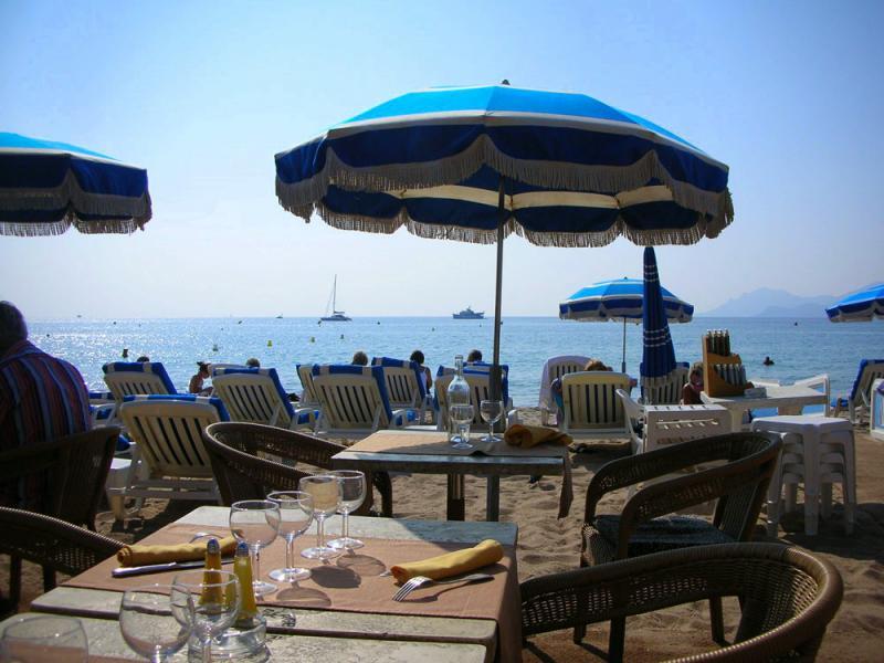 Vue extérieure de la location Location Appartement 5501 Cannes