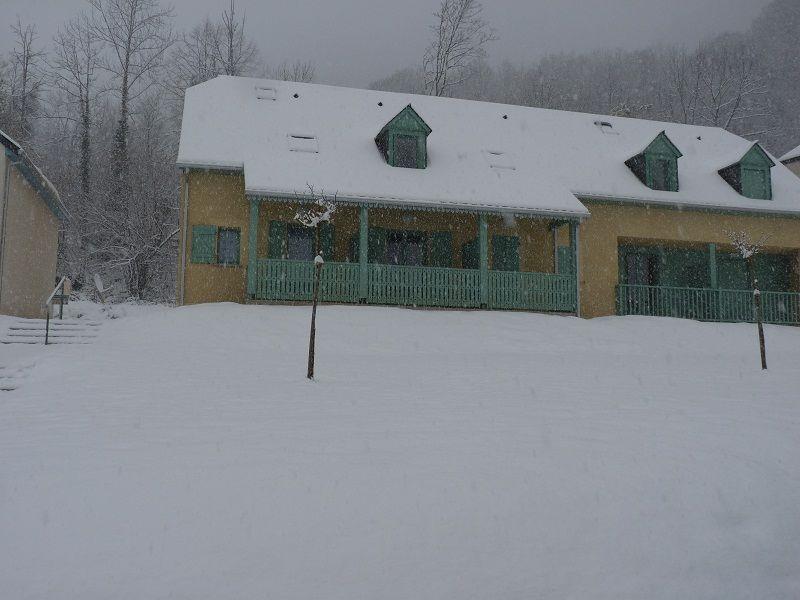Vue extérieure de la location Location Appartement 55414 Cauterets