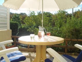 Vue de la terrasse Location Appartement 55415 Cap d'Agde