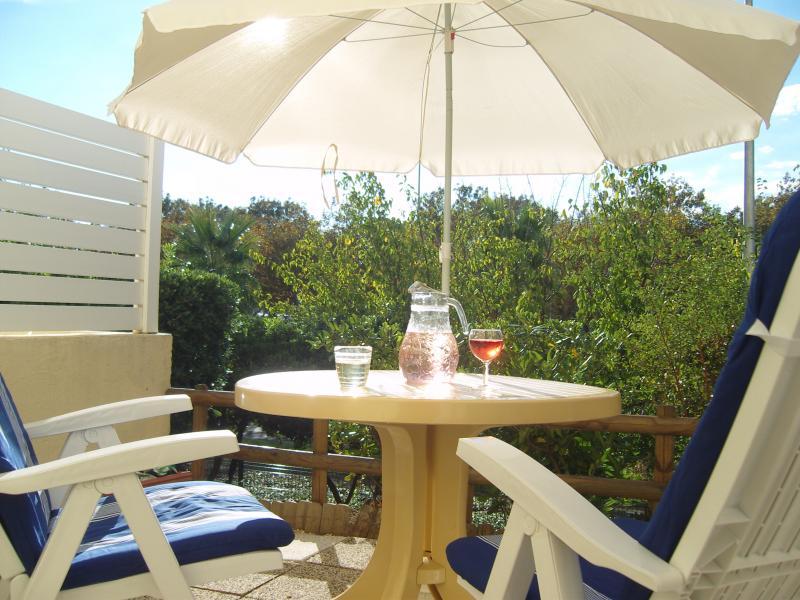 Vue depuis la location Location Appartement 55415 Cap d'Agde