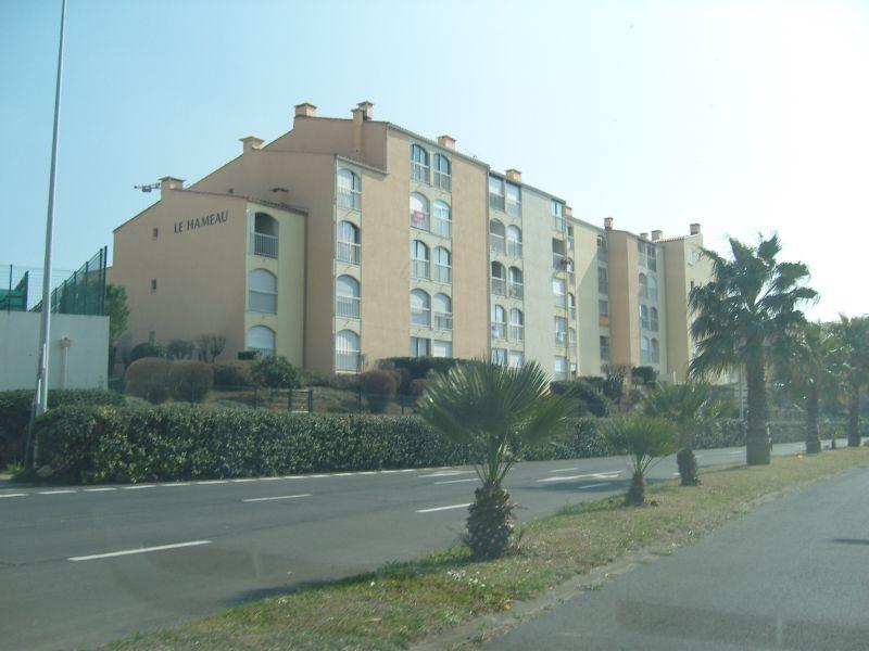 Vue extérieure de la location Location Appartement 55415 Cap d'Agde