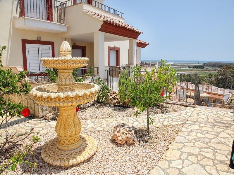 Jardin Location Appartement 55866 Vera