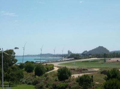 Vue de la terrasse Location Studio 56501 Cagnes sur Mer