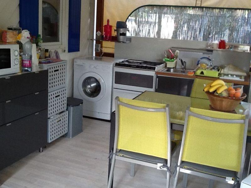 Cuisine d'été Location Mobil-home 5671 Ramatuelle