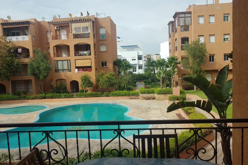 Vue du balcon Location Appartement 56721 Mohammedia