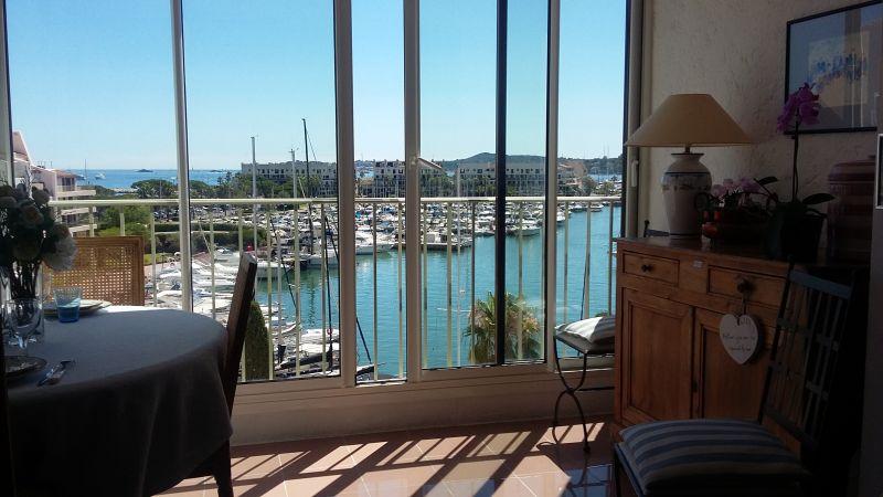 Vue depuis la location Location Appartement 5689 Saint Tropez