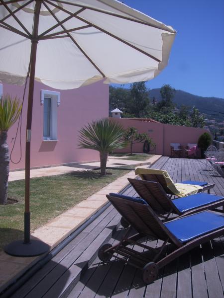 Vue du balcon Location Bungalow 57060 Funchal