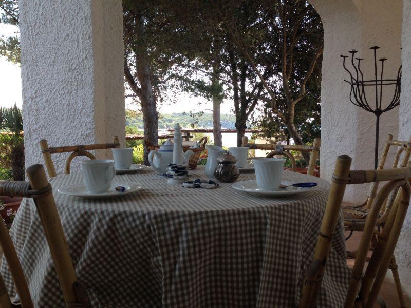 Vue de la terrasse Location Villa 57483 Alghero