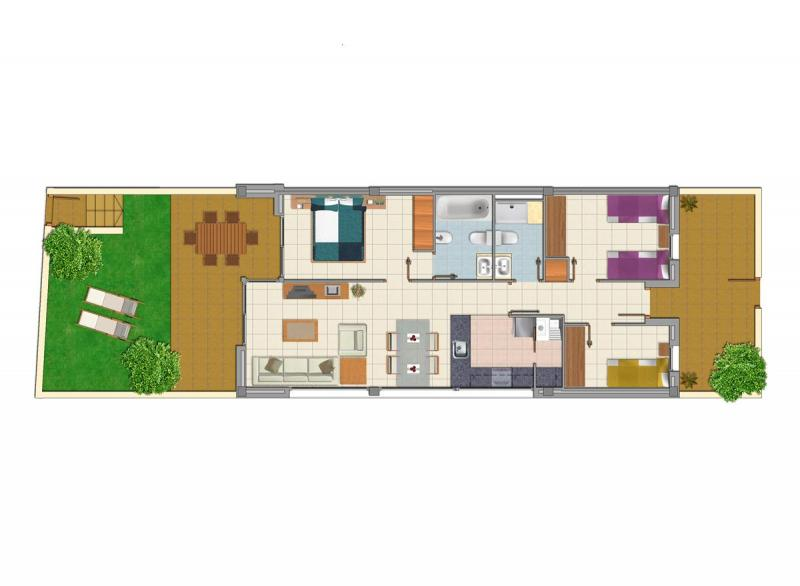 Plan de la location Location Appartement 57683 Vinaroz