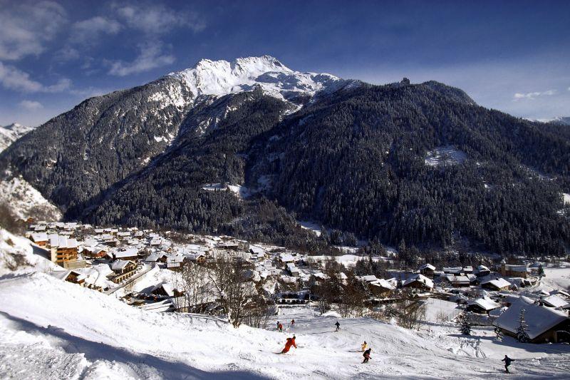 Vue extérieure de la location Location Chalet 577 Champagny en Vanoise