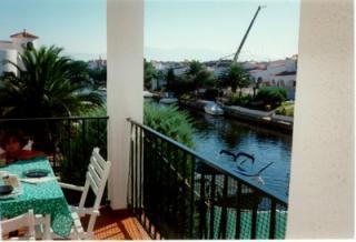 Vue de la terrasse Location Appartement 57746 Empuriabrava