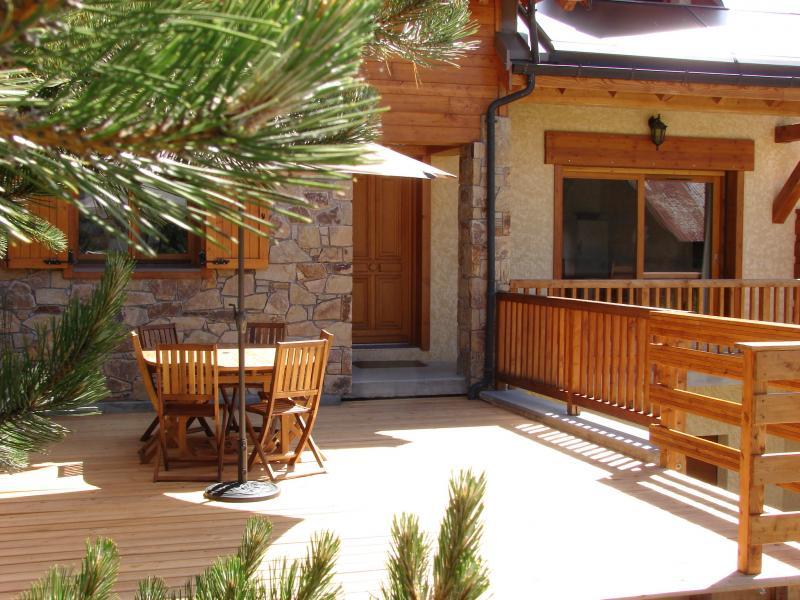 Terrasse Location Chalet 57805 Montgenevre
