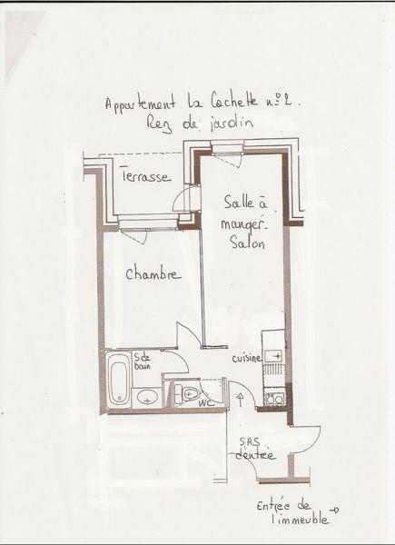 Plan de la location Location Appartement 57921 Valmorel