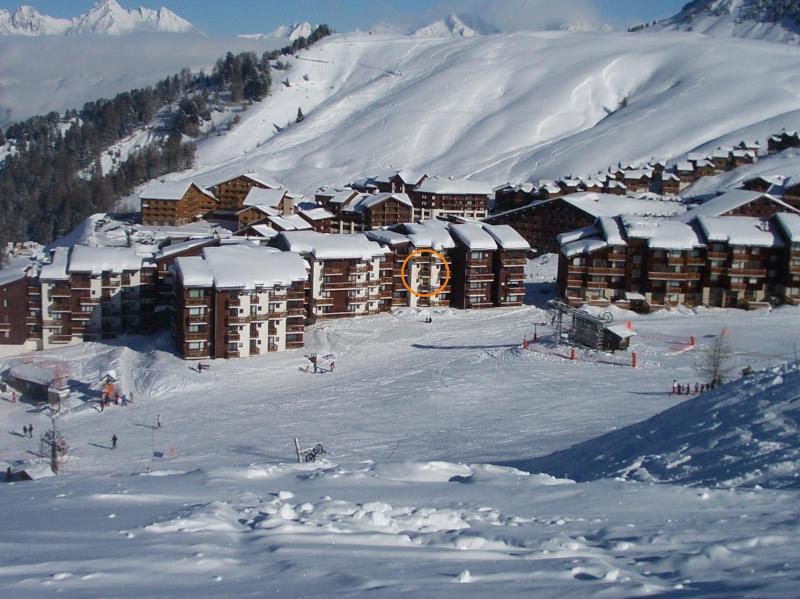 Vue extérieure de la location Location Studio 58187 La Plagne