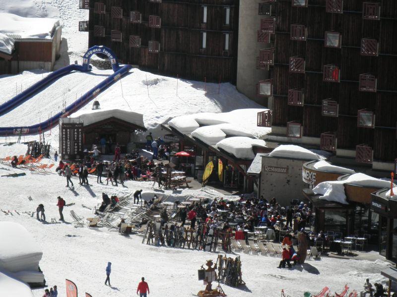 Vue du balcon Location Appartement 58207 La Plagne