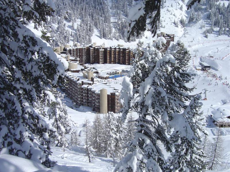 Vue extérieure de la location Location Appartement 58207 La Plagne