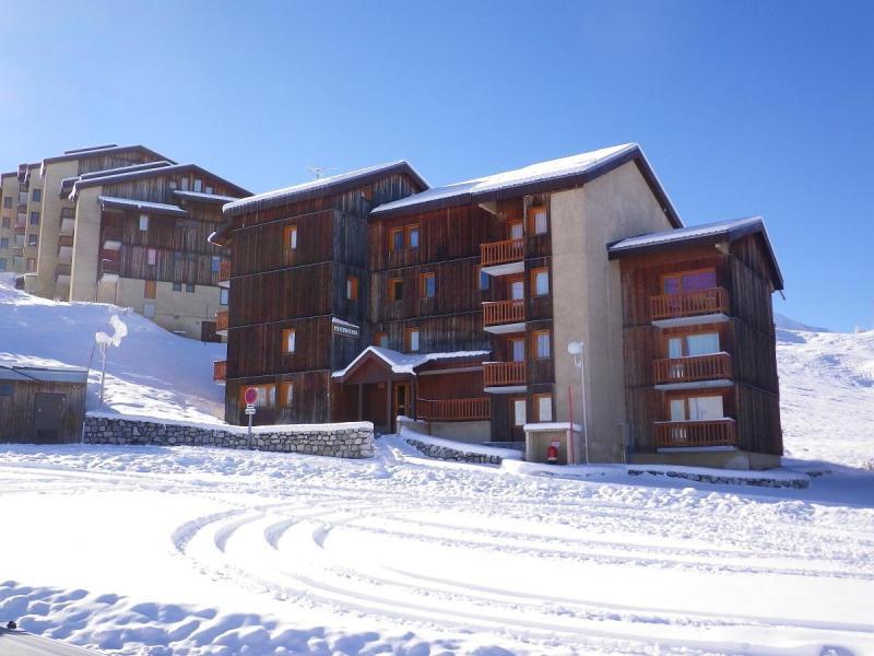 Vue extérieure de la location Location Appartement 58322 La Plagne