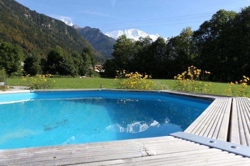 Vue extérieure de la location Location Appartement 58539 Saint Gervais Mont-Blanc