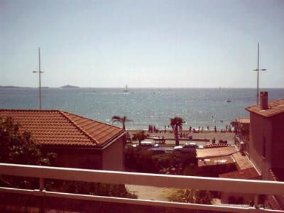 Vue de la terrasse Location Appartement 5865 Sanary