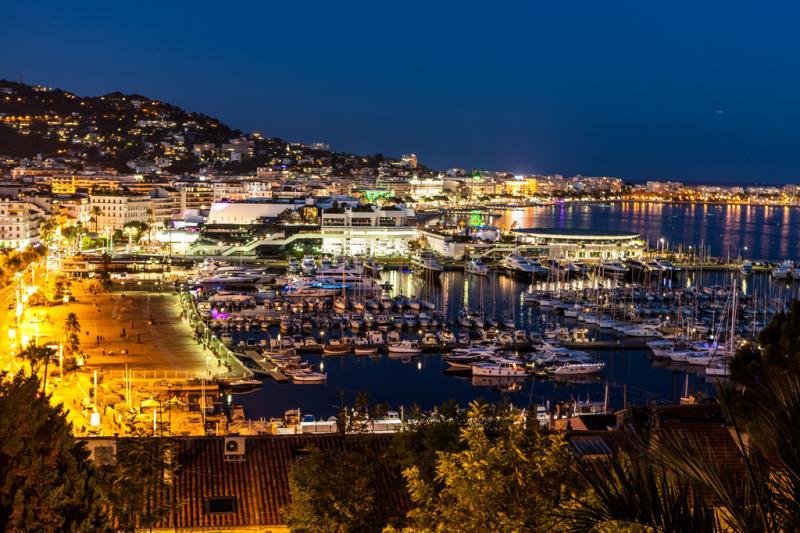 Vue extérieure de la location Location Appartement 58684 Cannes