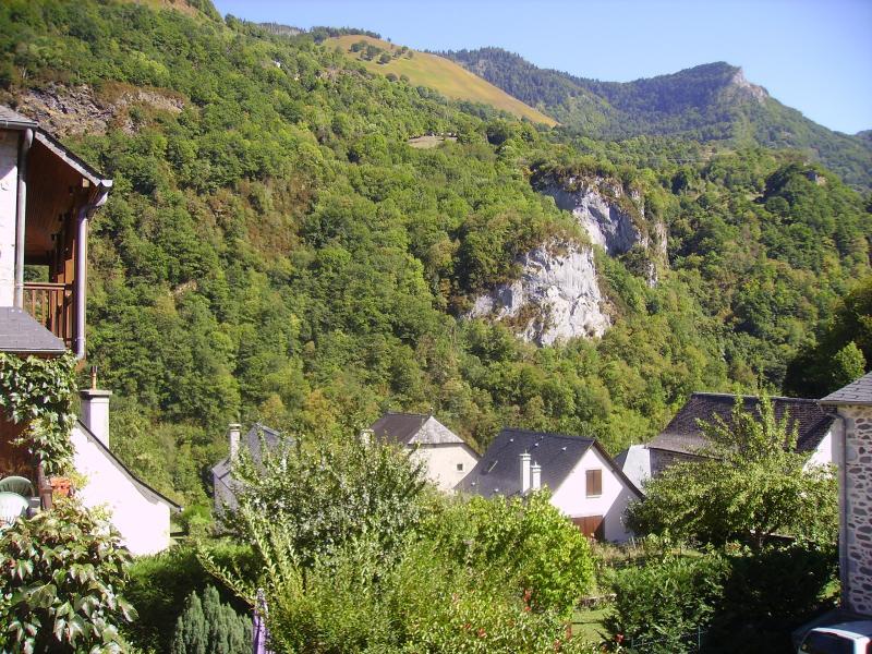 Vue depuis la location Location Maison 58946 Le Somport