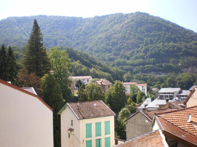 Vue du balcon Location Appartement 58968 Ax Les Thermes