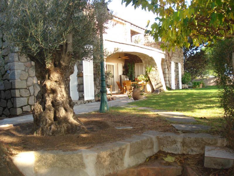 Jardin Location Villa 59191 Ste Lucie de Porto Vecchio