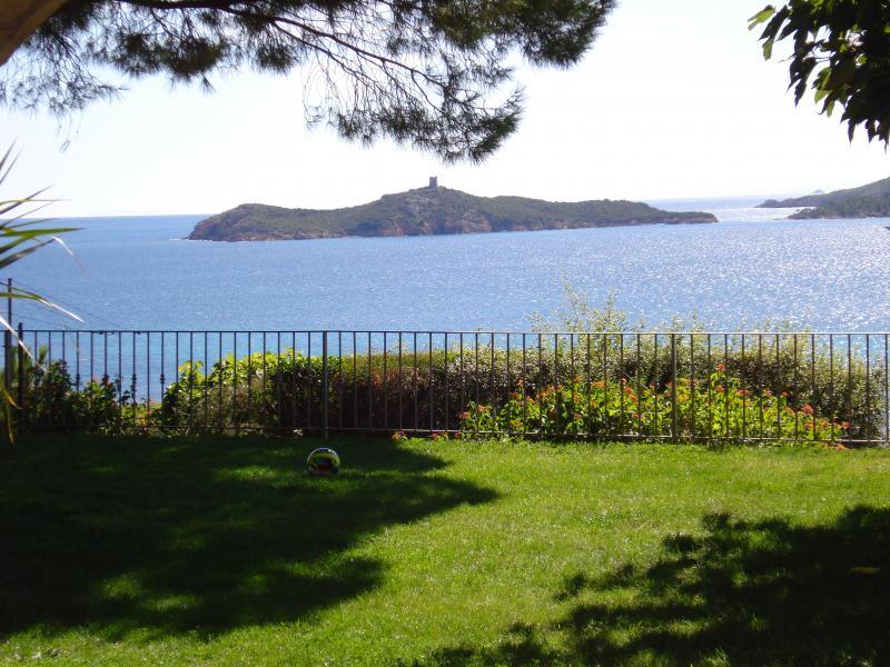 Vue depuis la location Location Villa 59191 Ste Lucie de Porto Vecchio