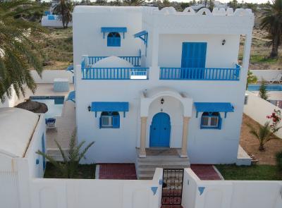 Vue ext�rieure de la location Location Villa 59238 Djerba