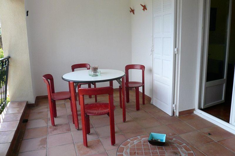 Vue de la terrasse Location Appartement 5933 La Ciotat
