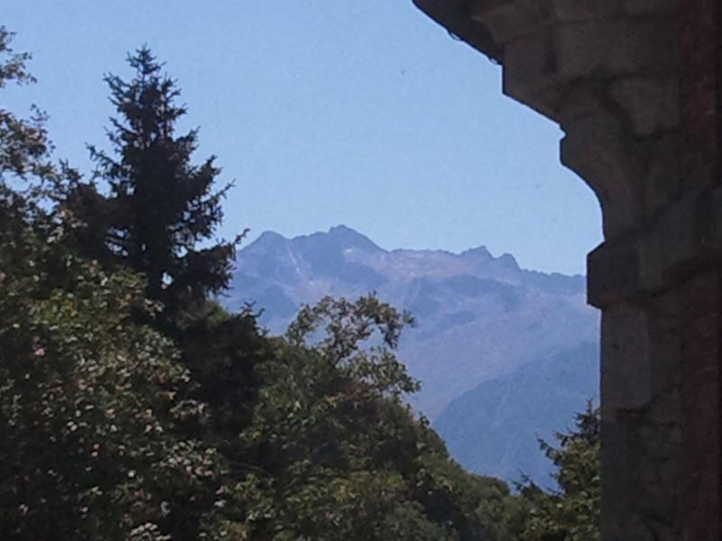 Vue du balcon Location Studio 59518 Barèges