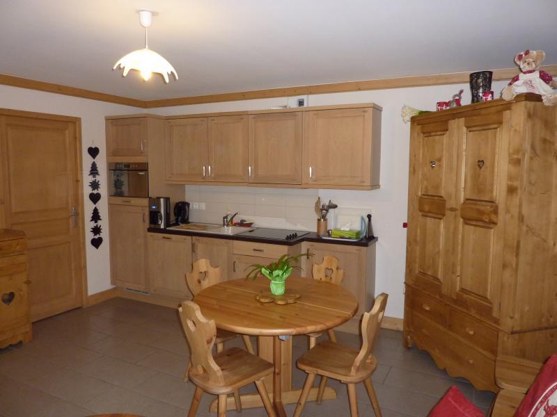 Cuisine d'été Location Appartement 59536 Saint Gervais Mont-Blanc