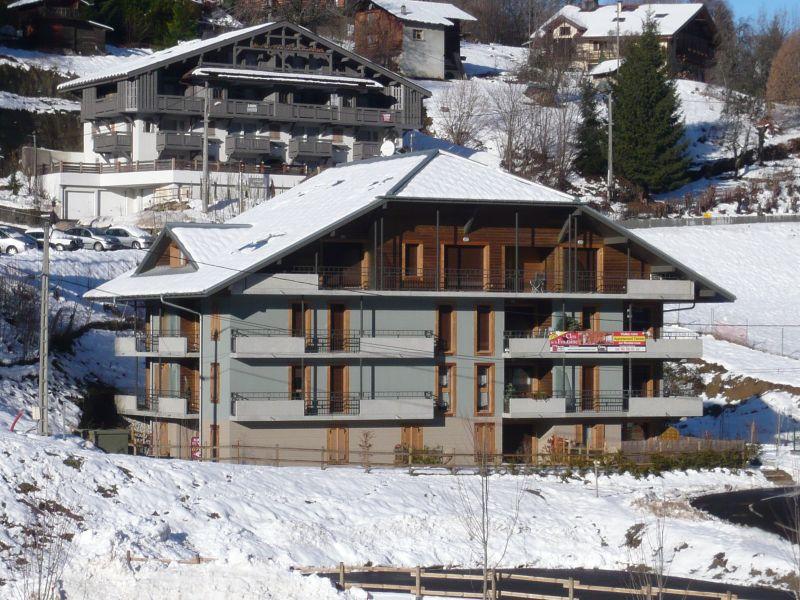Vue extérieure de la location Location Appartement 59536 Saint Gervais Mont-Blanc