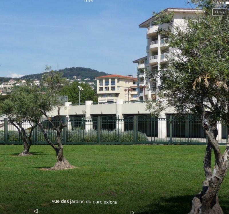 Jardin Location Appartement 59593 Juan les Pins