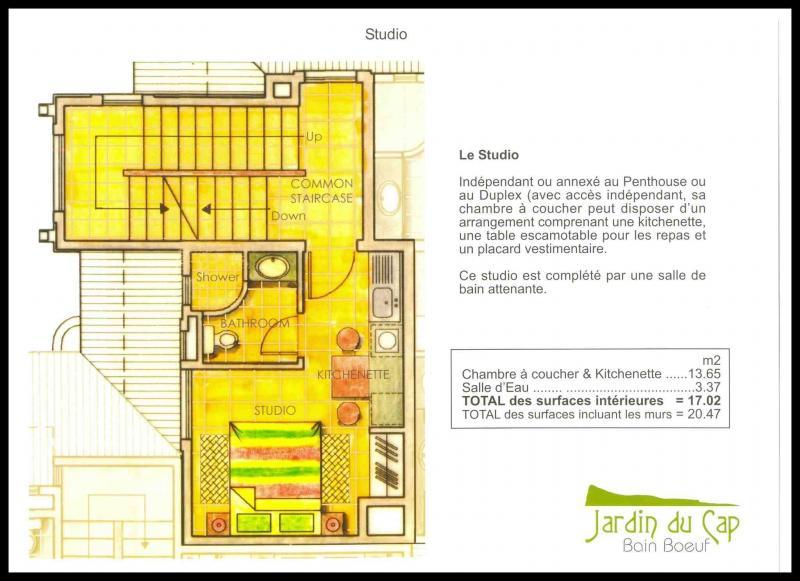 Plan de la location Location Studio 59750 Péreybère