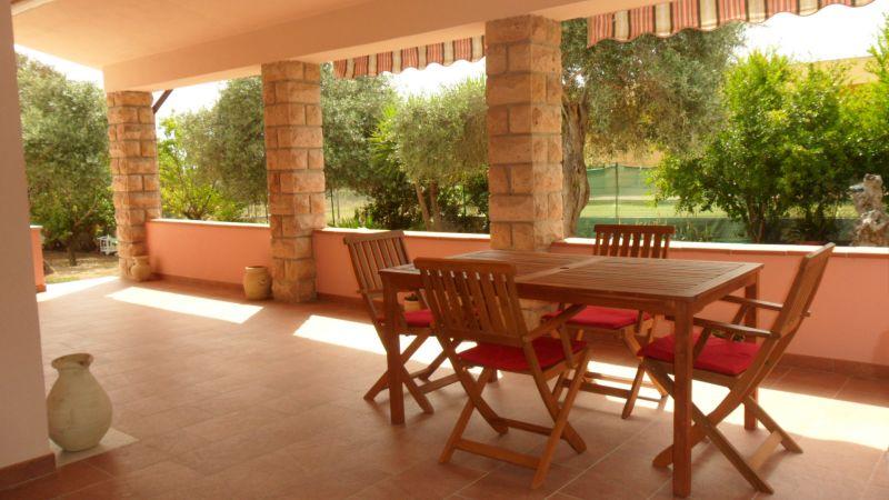 Vue de la terrasse Location Villa 59944 Alghero