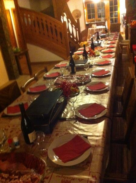 Salle à manger Location Chalet 600 Châtel