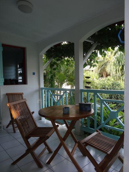 Vue de la terrasse Location Gite 60311 Sainte Anne (Guadeloupe)