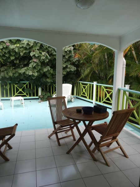 Terrasse Location Gite 60311 Sainte Anne (Guadeloupe)