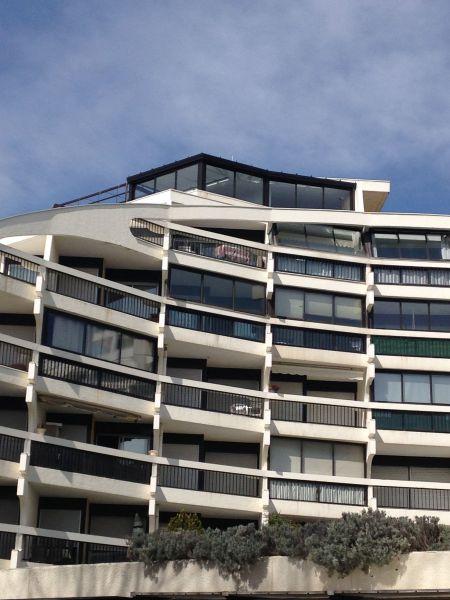 Vue extérieure de la location Location Appartement 6039 La Grande Motte