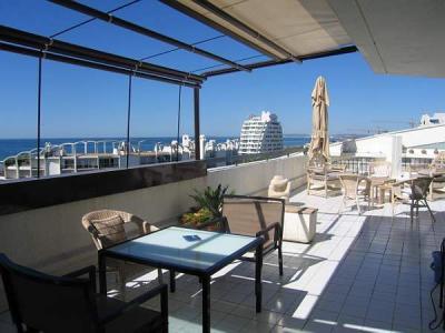 Vue de la terrasse Location Appartement 6039 La Grande Motte